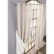 """Vorhang """"Oslo"""", 1 Vorhang - Selten ist ein beidseitig schöner Doubleface so zart und leicht."""