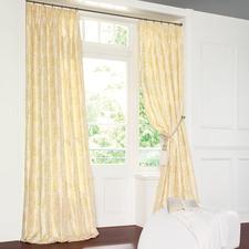"""Vorhang """"Torino"""", 1 Vorhang - Nobel wie bestickte Seide. Aber pflegeleicht und dennoch erfreulich günstig."""