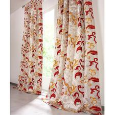 """Vorhang """"Silana"""", 1 Vorhang - Alltagstauglicher Luxus: Baumwolle mit Seide."""