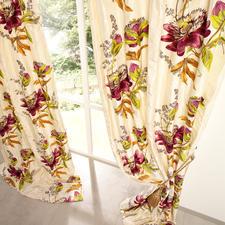 Vorhang Passion Flower - 1 Stück - Unter den floral dessinierten Vorhängen ist dies einer der  exquisitesten.