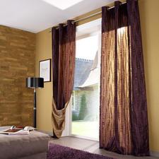 """Vorhang """"Lasalle"""", 1 Vorhang - 2 Vorhänge in einem. Und innerhalb weniger Minuten ein neuer Look."""