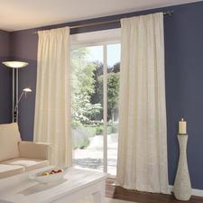"""Vorhang """"Moirage"""", 1 Vorhang - Selten geworden: Traditioneller Seidenmoiré.  Jetzt neu aufgelegt von Sahco."""