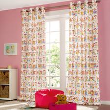 """Vorhang """"Children"""", 1 Vorhang - Kinderlachen, Eiscremefarben ...  Eindeutiger Favorit der Kinder (und Liebling der Eltern)."""