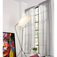 """Vorhang """"Convex"""", 1 Vorhang - Leinen-Look, ganz leicht und lichtdurchlässig."""