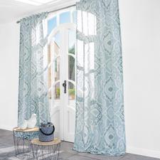 Vorhang Folie Douce - 1 Stück - Die moderne Interpretation traditioneller Ikat-Muster.