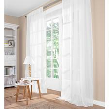 """Vorhang """"Pino"""", 1 Vorhang - Leinen mit Glimmer. Aber ohne kratziges Metallic-Garn."""