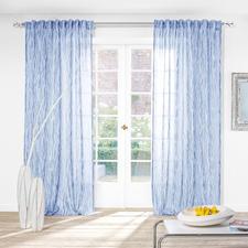 Vorhang Moire - 1 Stück - Ein Doppelgewebe mit seltener Transparenz und faszinierendem Moiré-Effekt.