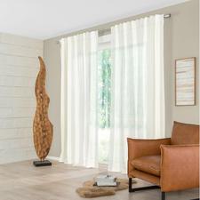 Vorhang Stripe - 1 Stück - Evergreen Streifen – aber Struktur pur, ohne Farbe oder Glanzeffekt.