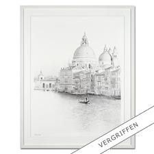 Koshi Takagi – Venedig - Fotorealistische Bleistiftzeichnung mit über 1 Million handgemalten Strichen. Die dritte Schwarz-Weiß-Edition Koshi Takagis (die erste ist bereits ausverkauft). 30 Exemplare.
