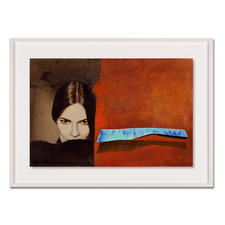 """Jaro: """"Schatten der Verführung"""" - Jaro editiert erstmals sein Lieblingswerk.  Das Signet des Künstlers geprägt und handschraffiert. Niedrig limitiert – in zwei Größen erhältlich."""