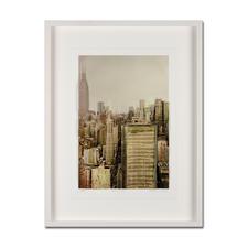 Gottfried Salzmann – NY Empire State Building, 2014 - Gottfried Salzmanns erste 3D-Edition. 25 Exemplare – jedes ein Unikat. Maße: gerahmt 63,5 x 84 cm