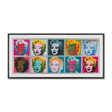 """Andy Warhol – Marilyn Monroe Tableau (1967) - Andy Warhol """"Marilyn Monroe Tableau"""" (1967) als High-End Prints™. Endlich eine Qualität, die dem großen Meisterwerk tatsächlich gerecht wird. Maße: gerahmt 153 x 73 cm"""