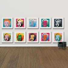 Andy Warhol – Marilyn rosa