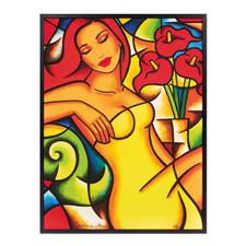 Ekaterina Moré – Red Callas Dream - Ekaterina Morés unverkäufliches neuestes Werk. Edition von 30 Exemplaren. Jedes Werk von Hand geprägt. Maße: 80 x 105 cm