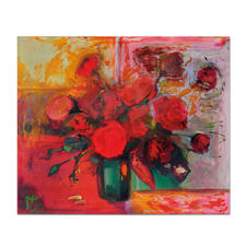 "Axel Kentsch: ""Rosas de Mallorca"" - Axel Kentschs erste Edition – handübermalt. Exklusiv bei Pro-Idee. 33 Exemplare."