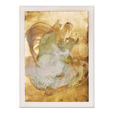 Robert Weber – Cloud of Unknowing - Robert Webers erste Unikatserie. Jedes Werk zu 100 % von Hand gemalt. 12 Exemplare. Maße: gerahmt 86 x 117,5 cm