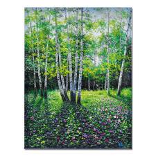 Pei Lian Zhi – Day in Spring - Pei Lian Zhi: In mehr als 200 Sammlungen vertreten. Jetzt auch in Ihrer? Edition – von Hand gefirnisst. 40 Exemplare. Maße: 90 x 120 cm