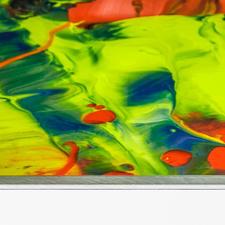Die Edition wurde als acrylglasversiegelter digitaler Farbfotoabzug gefertigt und auf einer 5 mm Aluminiumplatte aufgezogen.