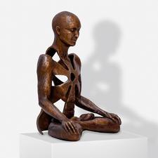 Sukhi Barber – Excell - Sukhi Barbers Unikatserie Excell. (Ihre erste war nach wenigen Wochen ausverkauft.) 16 Bronze-Skulpturen. Exklusiv bei Pro-Idee. Maße: 19 x 25 x 13 cm