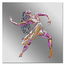 Paul La Poutré – Love to Dance - Paul La Poutré:  Unikatserie – 100 % von Hand auf Edelstahl gemalt. (Die erste war nach wenigen Tagen ausverkauft.) 24 Exemplare. Exklusiv bei Pro-Idee. Maße: 100 x 100 cm