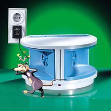 Mäuse-Vertreiber - Vertreiben Sie Nagetiere wie Mäuse und Ratten. Ohne Gift oder Fallen.