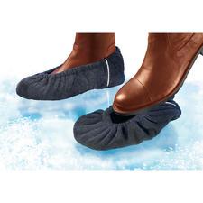 Anti-Rutsch-Überzieher, 2 Paar - Für jeden Schuh: Wirksamer Schutz vor üblen Verletzungen bei Eis und Nässe.