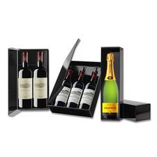 1er-, 2er- oder 3er-Lackkarton - Weine des Pro Idee Weinkellers stilvoll verschenken - im eleganten Lackkarton.