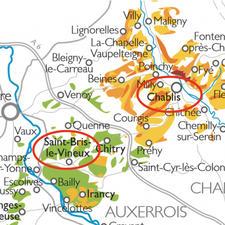 Saint-Bris-le-Vineux ist in unmittelbarer Nachbarschaft von Chablis.