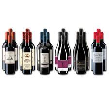 Weinsammlung - Die kleine Rotwein-Sammlung für anspruchsvolle Genießer Sommer 2020, 24 Flaschen - Wenn Sie einen kleinen, gut gewählten Weinvorrat anlegen möchten, ist dies jetzt besonders leicht.