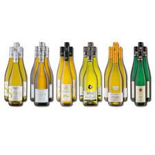 Weinsammlung - Die kleine Weißwein-Sammlung Winter 2020, 24 Flaschen - Wenn Sie einen kleinen, gut gewählten Weinvorrat anlegen möchten, ist dies jetzt besonders leicht.