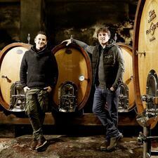 Weinmacher Steffen und Andreas Rings