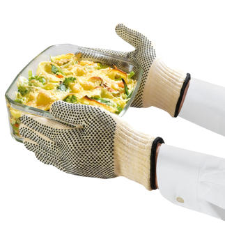Hitzeschutz-Handschuhe, 2 Stück Aus dem hitzebeständigen Material der Rennfahrerkombis.