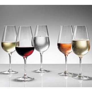 Steger-Glas Magnum, 245 mm hoch 6er-Set oder 12er-Set Das geniale Glas: Perfekt für alle Weine, Sekt, Champagner und Digestifs.
