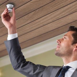 Rauch- oder Hitzemelder Invisible 10 Jahre Der wohl kleinste und eleganteste Rauchmelder der Welt. Mit 10-Jahres-Funktion ohne Batteriewechsel. Gemäß VdS 3131 zertifiziert.