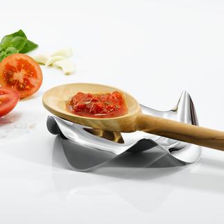 Design-Kochlöffelhalter Die wohl schönste und funktionellste Ablage für Kochlöffel & Co. Von Alessi. Perfekt durchdacht und elegant designed.