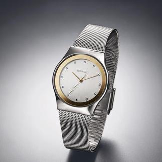 Bering Damen-Funk-Armbanduhr Dänisches Design. Deutsches Präzisions-Uhrwerk. Erschwinglicher Preis. Die Damen-Funkuhr von Bering.