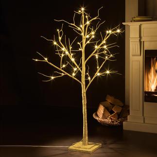 LED Deko-Baum Romantisch leuchtende Glitzerbäume - prachtvoll wie aus dem Märchenwald. Verzaubern Ihre Räumlichkeiten.