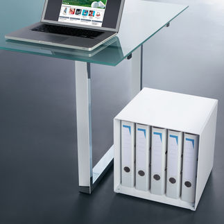 Designer-Kubus Stellen. Stapeln. Kombinieren. Diese genialen Metallwürfel sind Regal, Tisch, Raumteiler, Wohnobjekt, ...