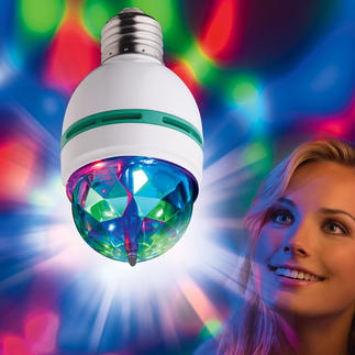 Club Light 2 go Rotierende Lichteffekte wie in coolen Clubs. Passend für jede E27-Fassung.