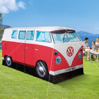Camping VW Bulli Viel bestaunt auf jedem Campingplatz: der legendäre T1 von 1965 - als original Bulli-Zelt.