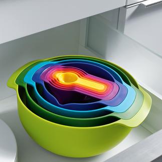 Joseph Joseph 9-in-1 Praktischer (und schöner): 9 unverzichtbare Küchenutensilien auf kleinstem Raum.