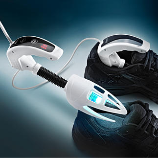 iShoe UV-C-Desinfizierer Die wirksame Waffe gegen Bakterien, Keime und Gerüche in Schuhen.