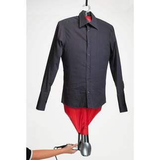 Mashati Bügel-Assistent Ruck-zuck: tadellos glatte Hemden, Blusen, Shirts. Ohne lästiges Bügeln.