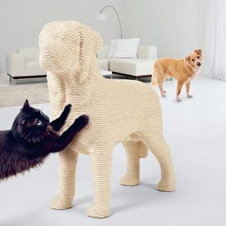 """Design-Kratzbaum """"Hund"""" Kratzbaum? Außergewöhnliches Deko-Objekt? Dieser Labrador ist beides."""