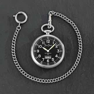 Habmann Funk-Taschenuhr Klassische Taschenuhr. Mit moderner Funksteuerung. Aus der traditionsreichen Uhrenmanufaktur Habmann von 1923.