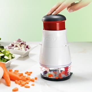 Zyliss Gemüsehacker Noch gleichmäßiger, noch schneller, noch leichter zu reinigen.
