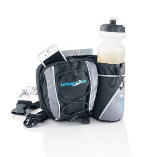 Hüfttasche Die Lösung, wenn die Hosentasche zu klein, aber der Rucksack zu groß ist.