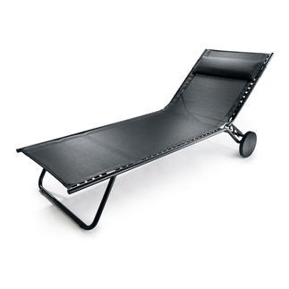 Lafuma Designliege Miami Stylish, ultraleicht und komfortabel. Für drinnen und draußen. Wetterfest und dauerhaft schön.