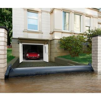 Wasserschutzschlauch Schnelle Hilfe bei Starkregen, Hochwasser, Überflutungen.