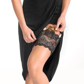 """Strumpfband-Safe """"GirlyGoGarter®"""" Für Geld, Handy, Schlüssel, Lipgloss, ... Endlich feiern und tanzen ohne lästige Handtasche."""